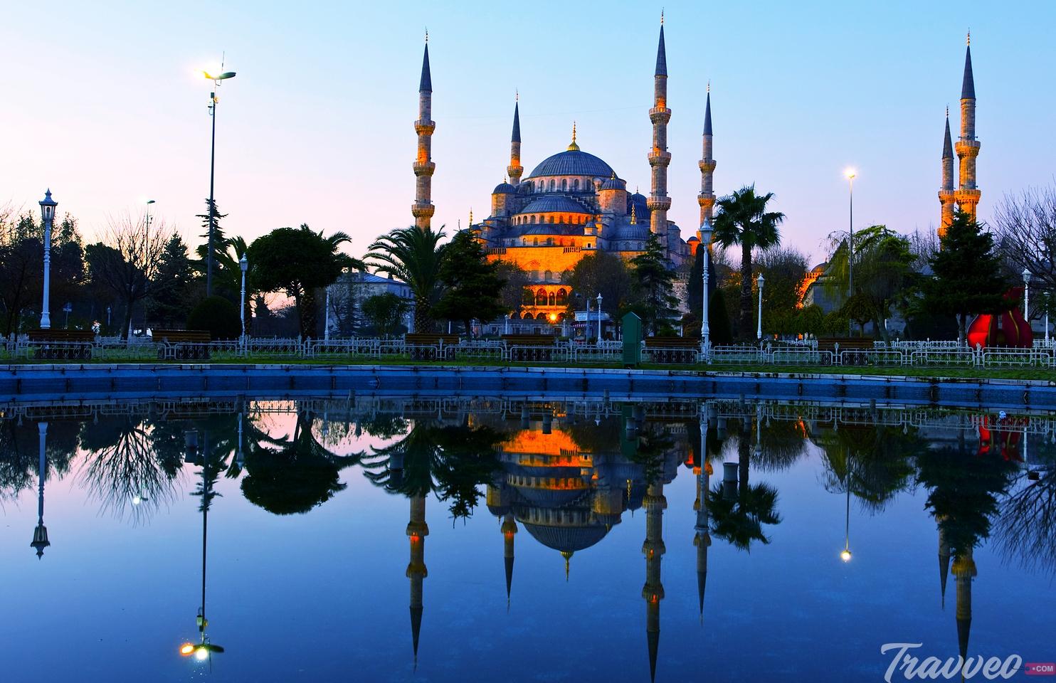 زيارة افضل المعالم السياحية فى تركيا
