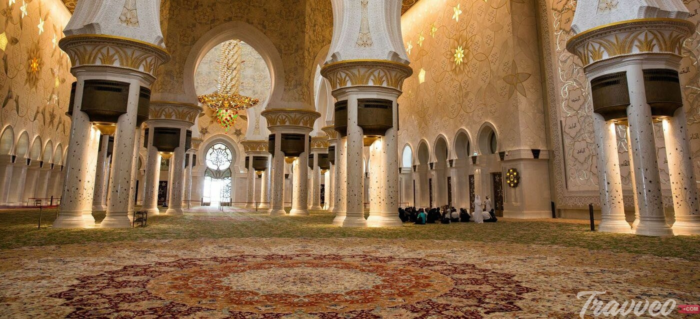أبرز معالم جامع الشيخ زايد الكبير ترافيو كوم للخدمات السياحية المختلفة بالامارات