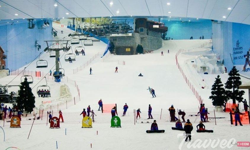 مدينة الثلج فى الرياض