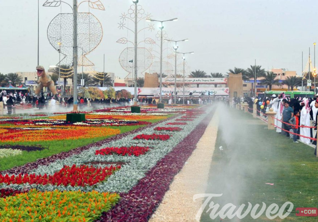 حديقة الملك عبدالله بالرياض