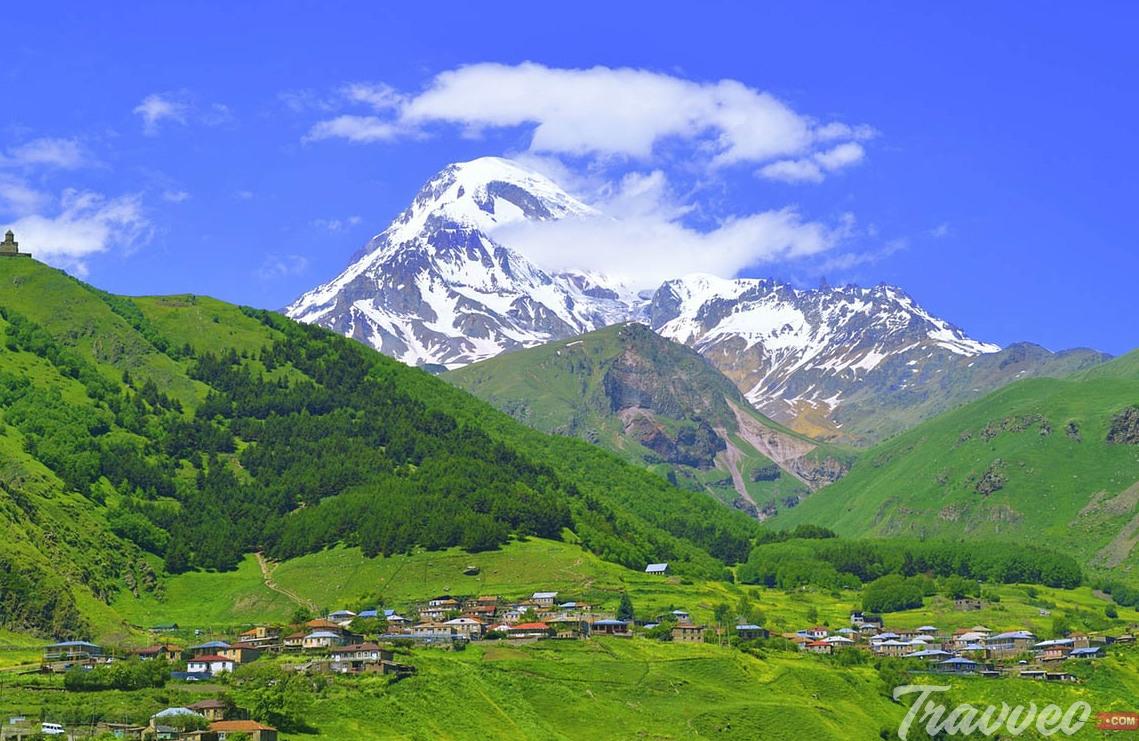 جبل كازبيك Mount Kazbek