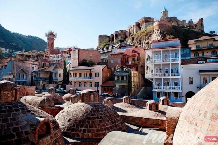 المدينة القديمة في تبليسي
