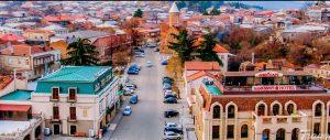 مدينة تيلافي في جورجيا
