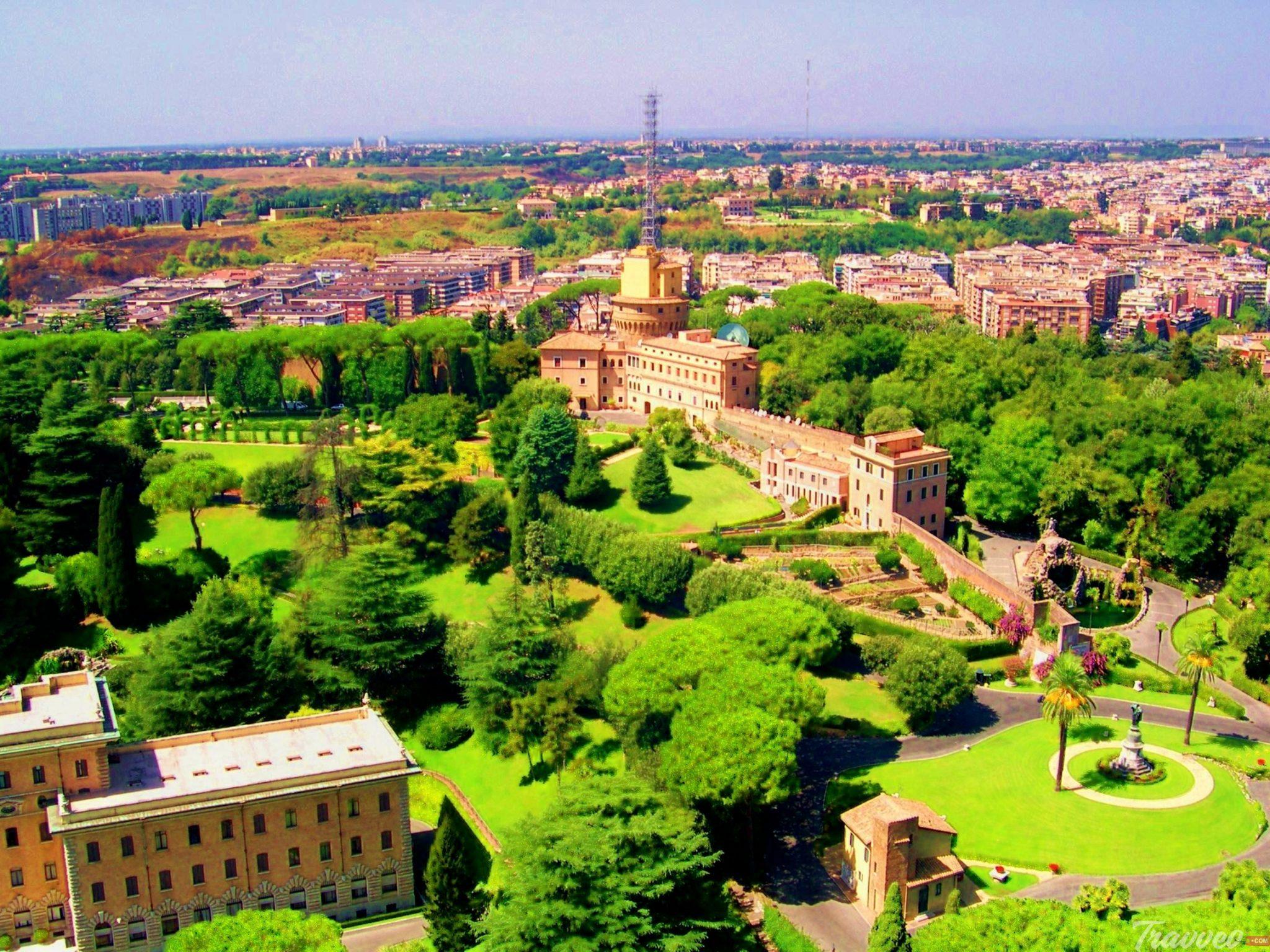 حدائق الفاتيكان الشهيرة