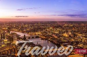 رحلة سياحية في انجلترا
