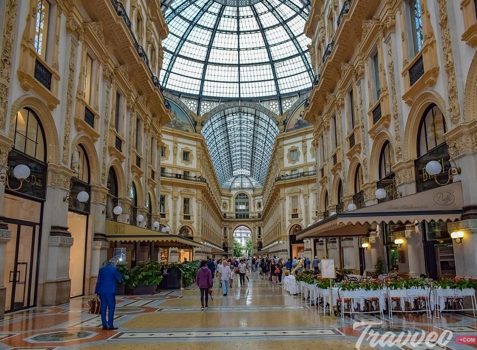 أماكن التسوق في ميلان