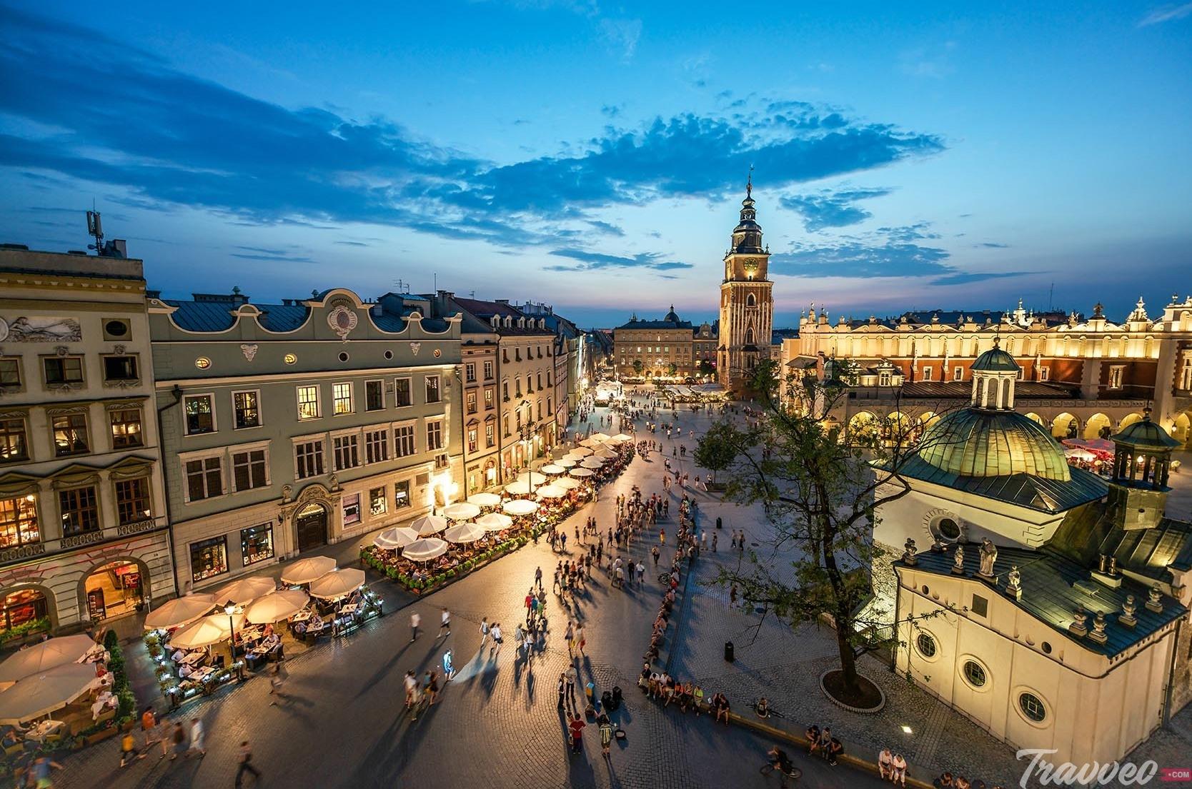 Historic Old Town Krakow