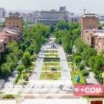 مركز المدينة في يريفان