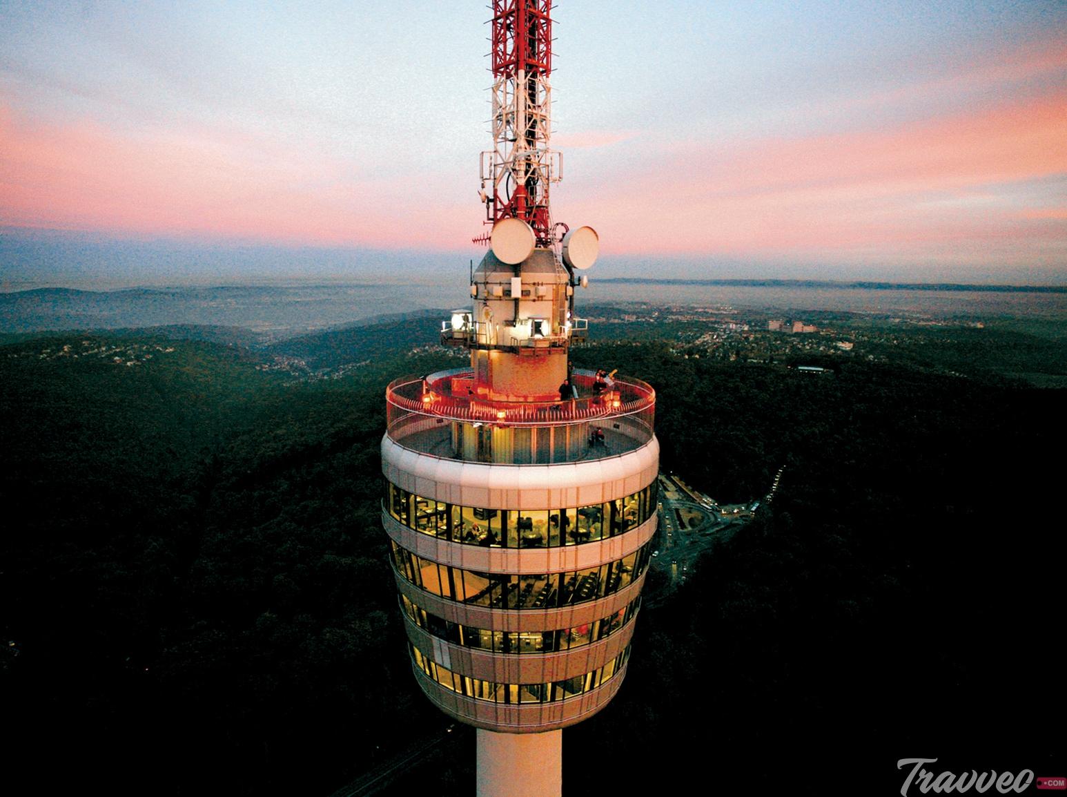 برج التليفزيون في شتوتغارت