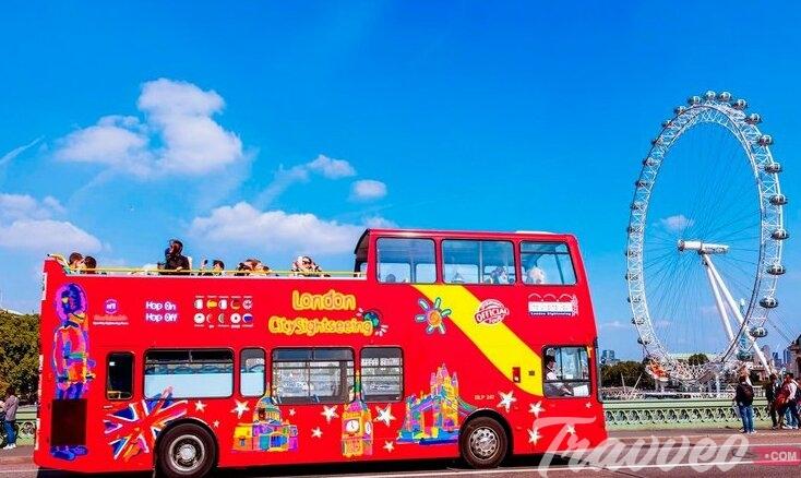 باص لندن السياحي