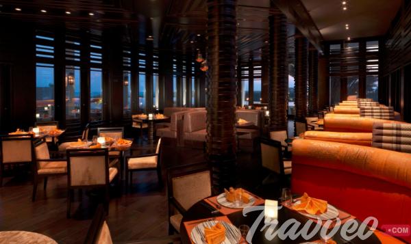 Mekong restaurant at Al Baleed Resort by Anantara