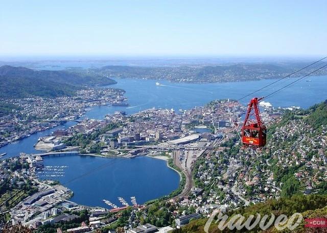 أبرز الاماكن السياحية في بيرغن النرويجية