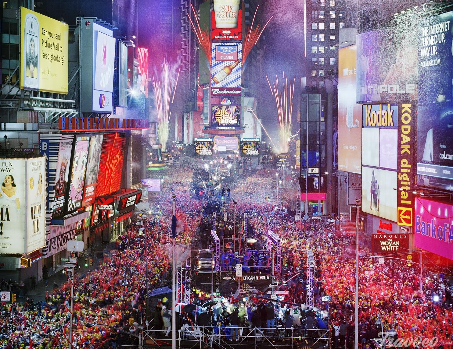 أفضل اماكن حضور حفلة رأس السنة 2020 في نيويورك ترافيو كوم للسياحة