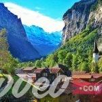 السياحة في وادي لوتربرونن سويسرا