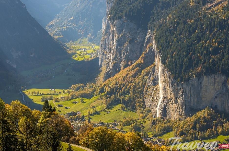 جولة سياحية في وادي لوتربرونن سويسرا