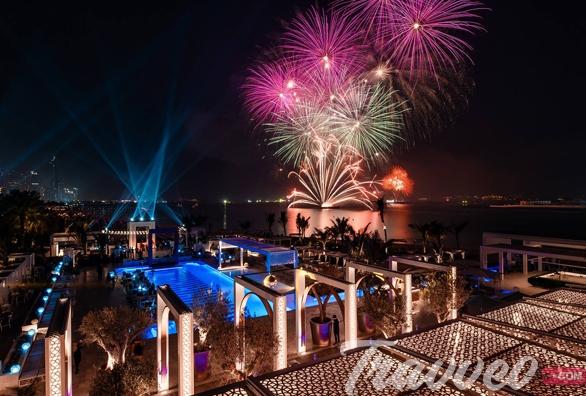 حفلة راس السنة 2020 في دبي