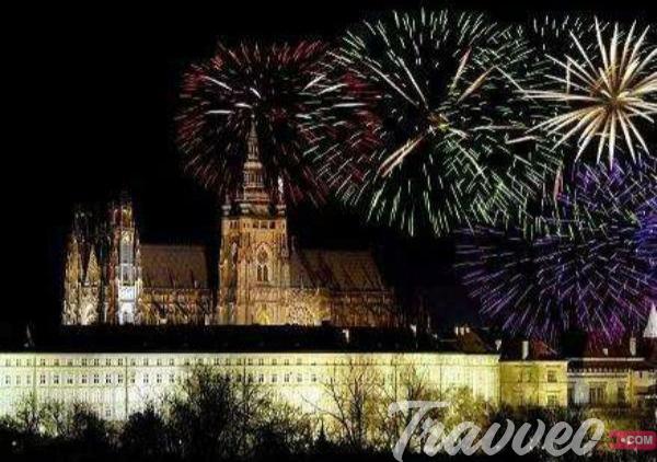 راس السنة 2020 في براغ التشيك