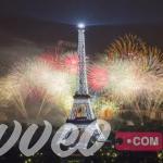 حفلات راس السنة في باريس فرنسا