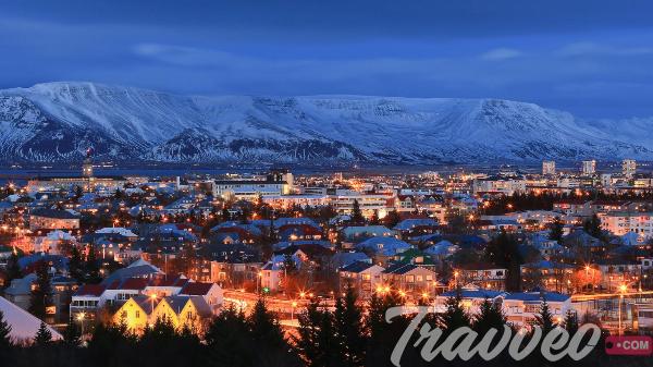 راس السنة في ريكافيك أيسلندا