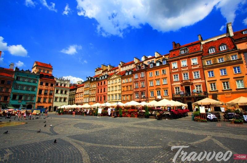 السياحة في مدينة وارسو