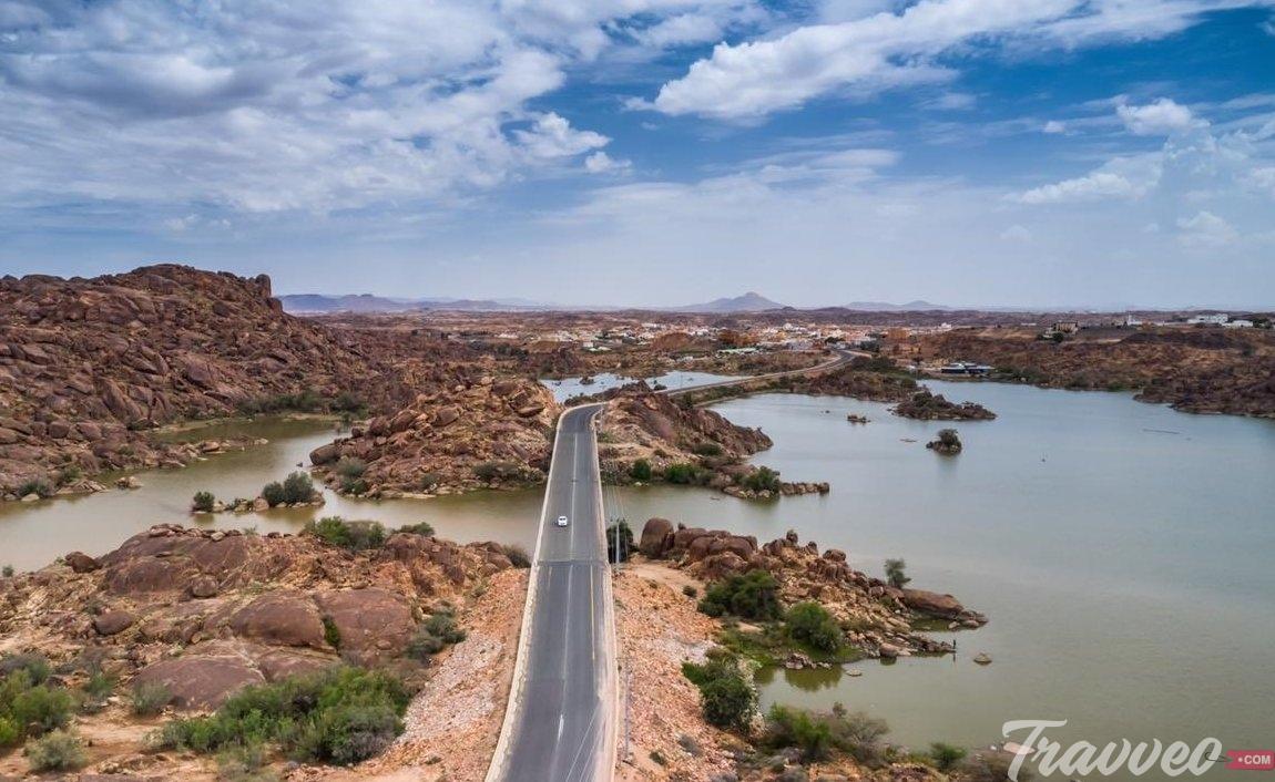 سد وادي تندحة - أماكن السياحة في خميس مشيط