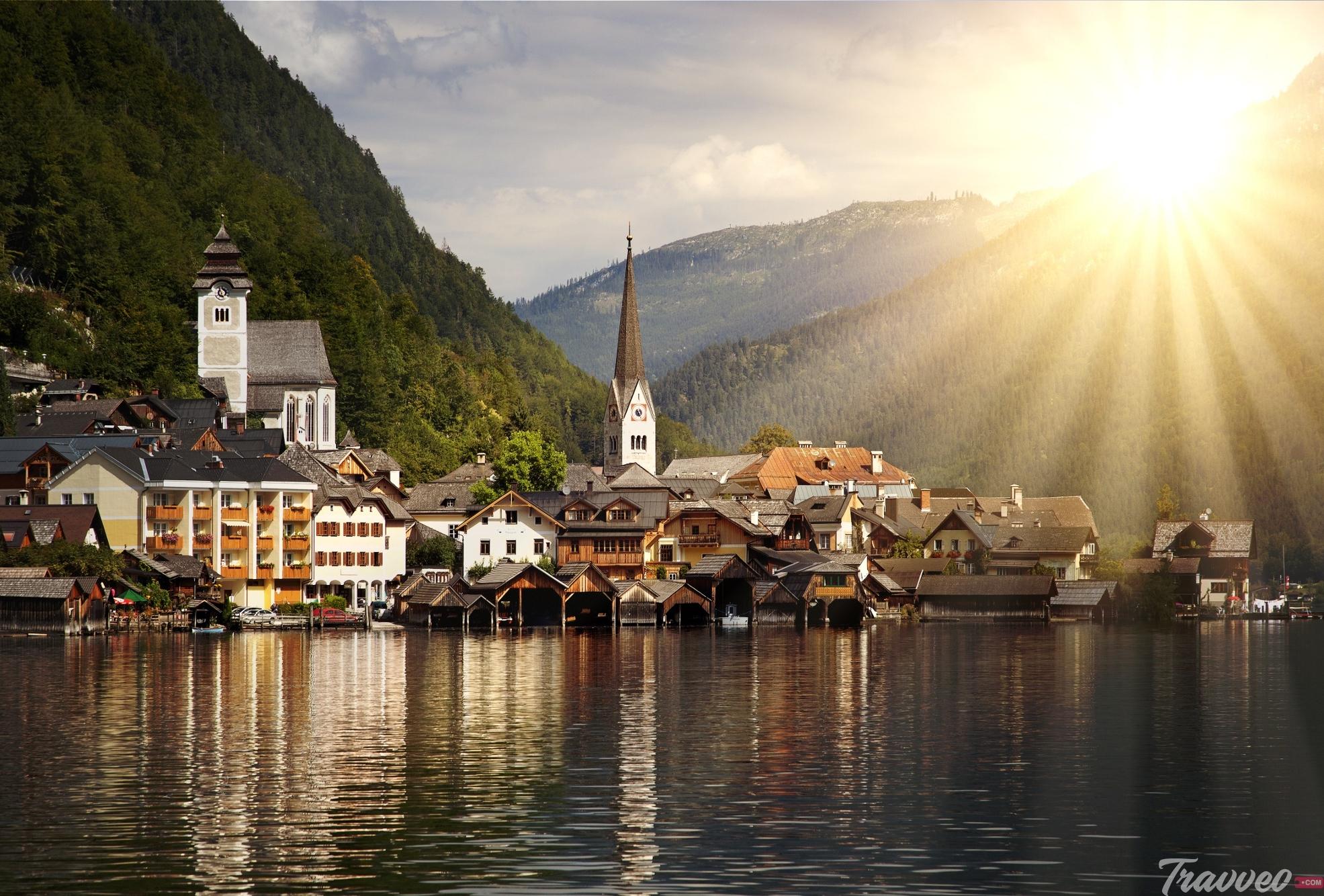السياحة في هالشتات - Hallstatt Austria
