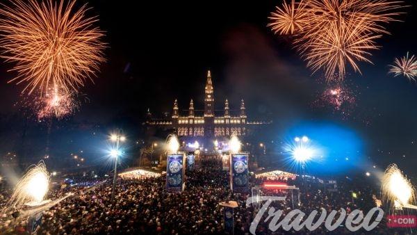 احتفالات راس السنة في فيينا
