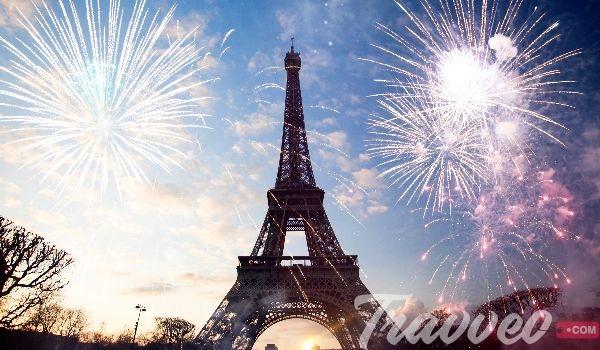 احتفالات راس السنة في باريس