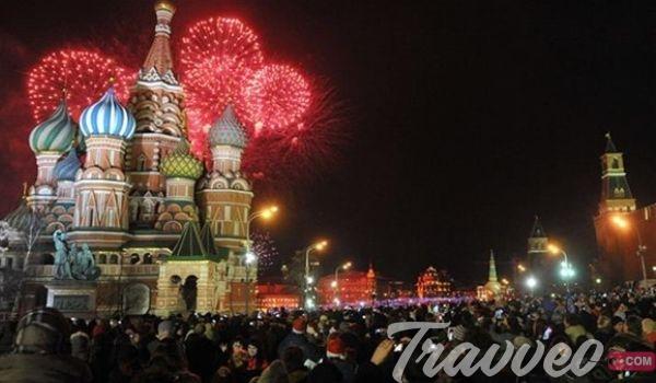 حفلات راس السنة 2021 موسكو